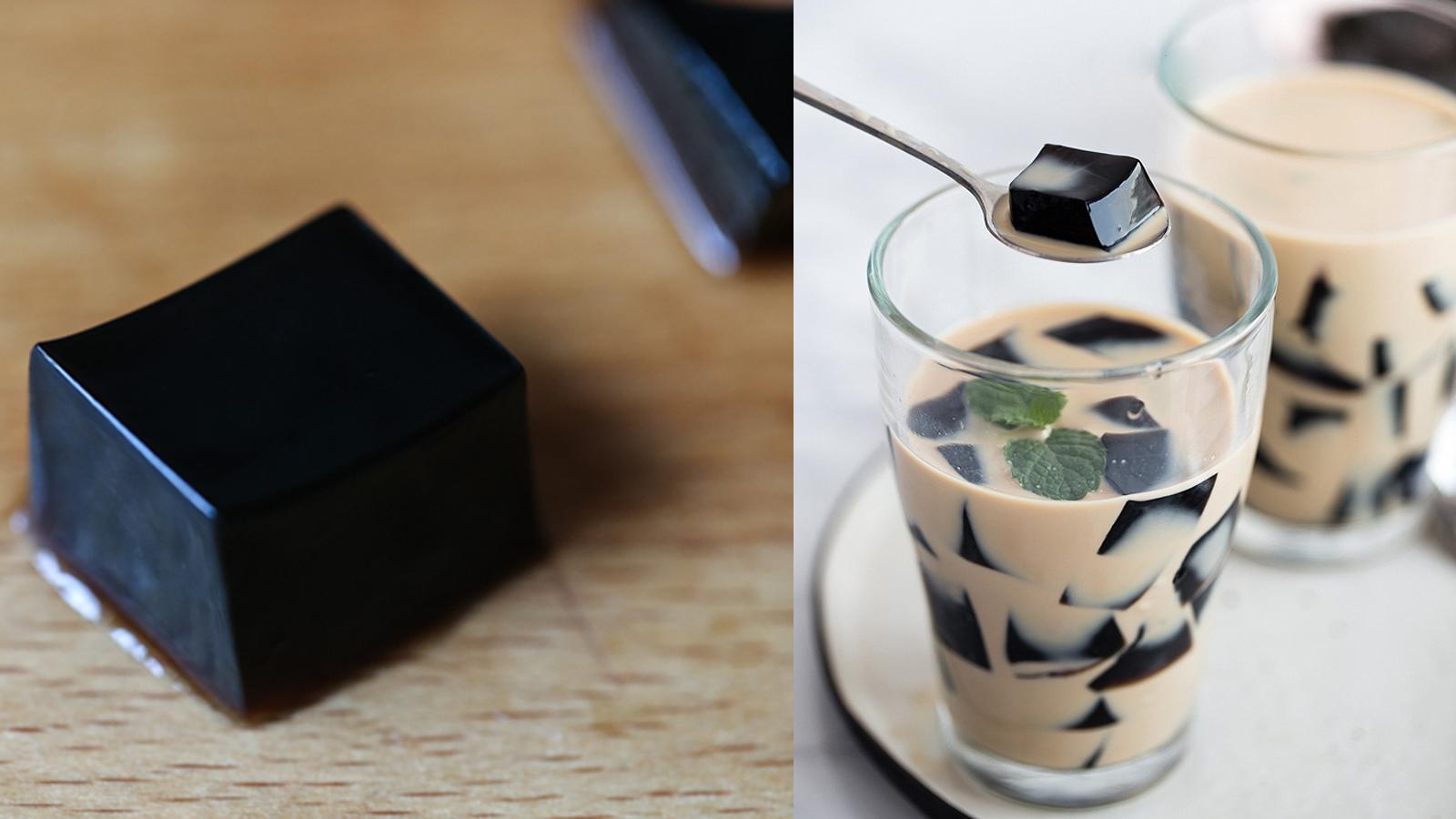 Cách làm trà sữa sương sáo thập cẩm tuyệt cú mèo