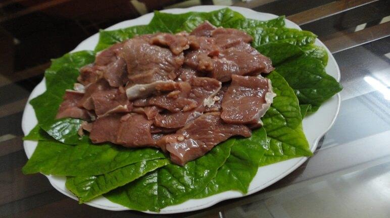 Kết quả hình ảnh cho món ăn từ lá lốt