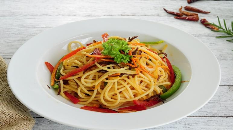 Cách làm mì spaghetti chay đơn giản mà ngon