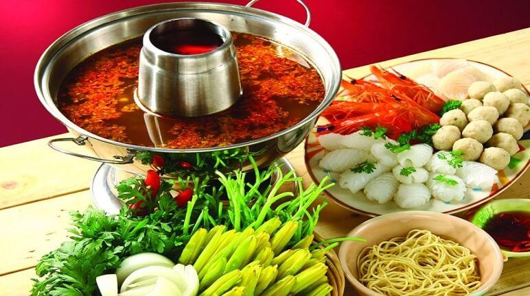 Món ngon xứ chùa Vàng - lẩu thái siamese