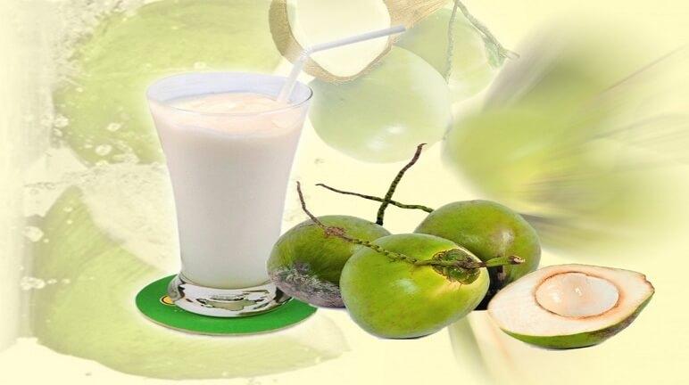 Cách làm sinh tố dừa thơm béo ngất ngây