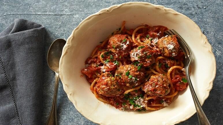 Cách làm Spaghetti thịt viên vừa ngon đúng chuẩn mà vừa lạ miệng