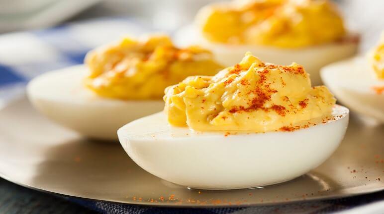 Công thức chế biến món trứng Mimosa - món khai vị tuyệt vời cho cả gia đình