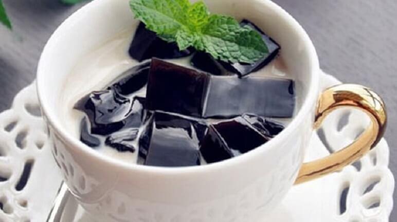 Cách làm trà sữa sương sáo cực hấp dẫn