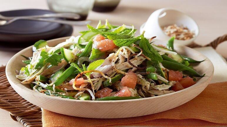SaladThổ Nhĩ Kỳ thơm giòn lạ miệng cho bữa ăn gia đình