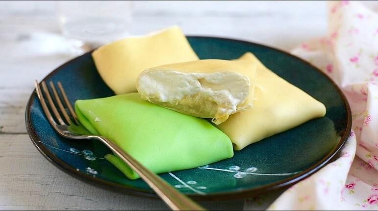 Cách làm bánh crepe lá dứa đặc biệt hấp dẫn