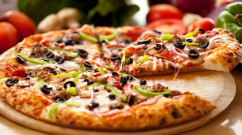 Bánh pizza bò - Ngon không thể cưỡng