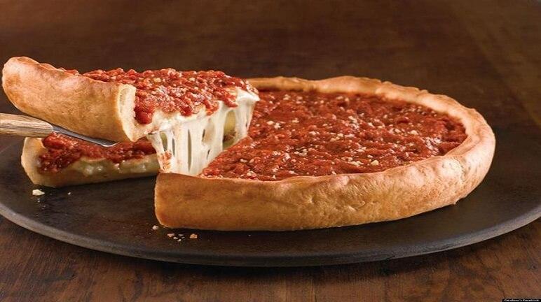 Cách làm pizza nhồi hấp dẫn dễ thực hiện
