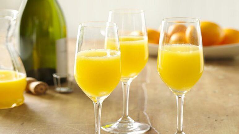 Cách làm món cocktail mimosa thơm ngon tinh tế