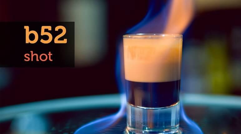 Hướng dẫn cách làm món cocktail B52 tại nhà ngon tuyệt