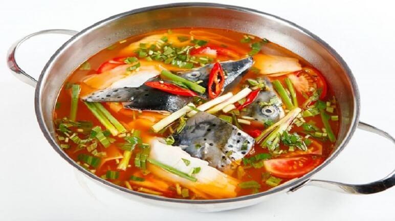 Cách nấu lẩu cá hồi