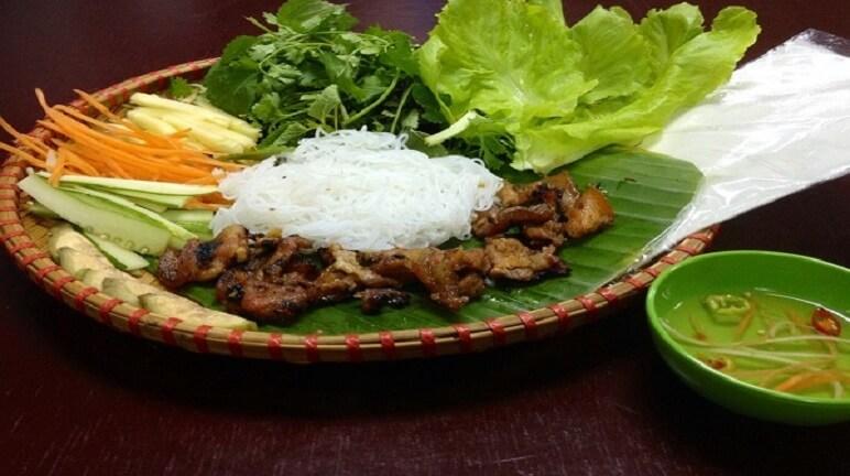 Cách làm bún thịt nướng Hà Nội ngon đơn giản tại nhà