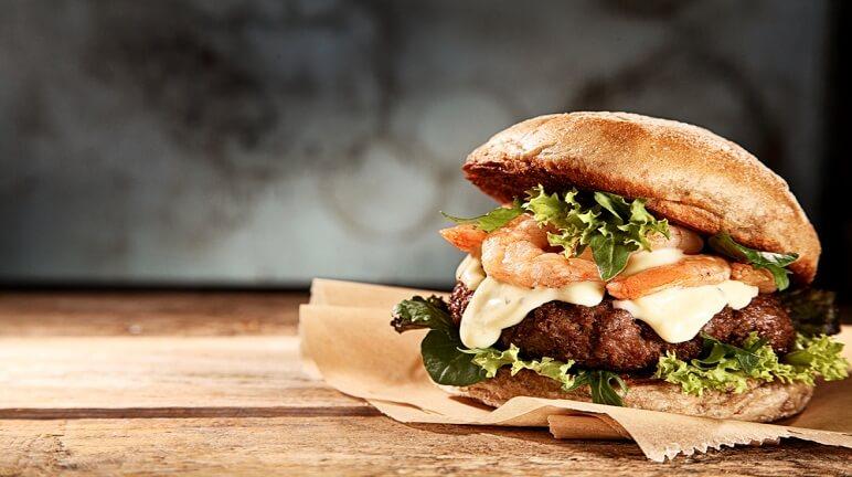 Thơm ngon bổ dưỡng với cách làm hamburger tôm