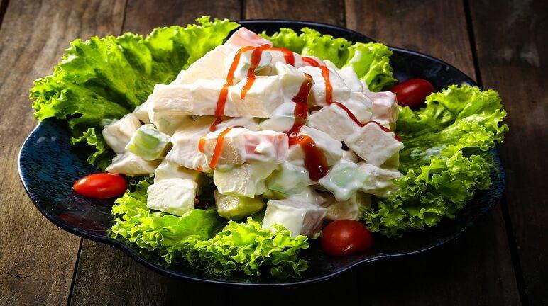 Cách làm salad hoa quả tăng cường sức khỏe