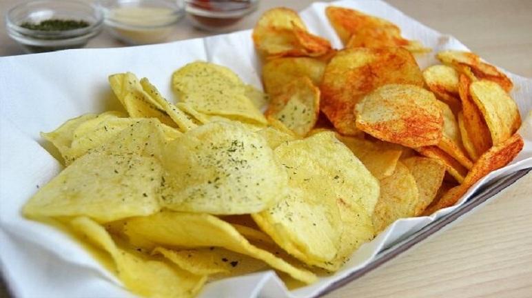 Cách làm snack khoai tây ngon giòn không béo