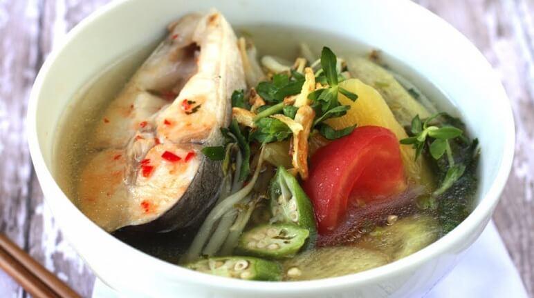 Đậm đà và ngon miệng với cách nấu canh chua cá lóc