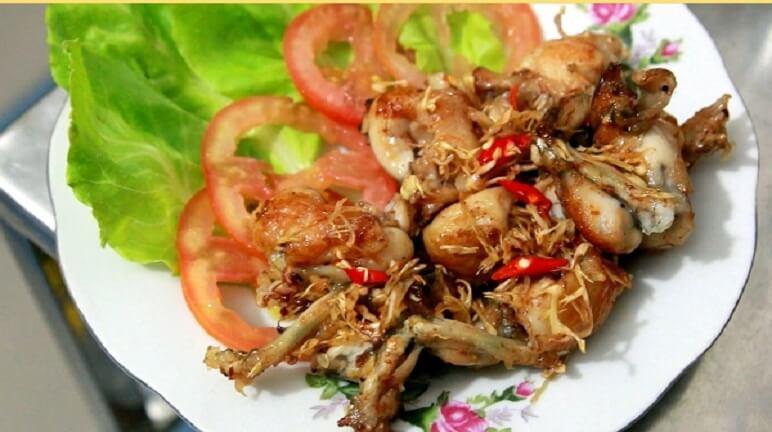 Tuyệt chiêu cho cách nấu thịt ếch ngon cùng món ếch chiên nước mắm