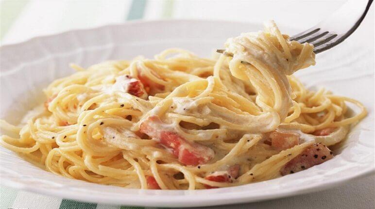 Spaghetti sốt kem thơm ngon và bổ dưỡng