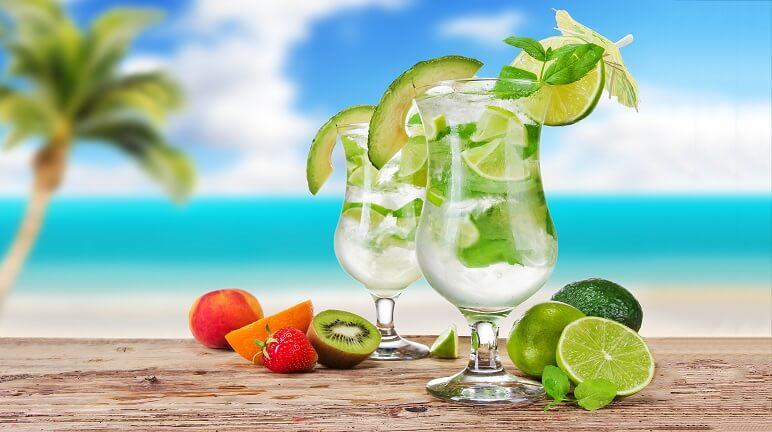 Pha chế cocktail mojito cho ngày hè thêm tươi mát