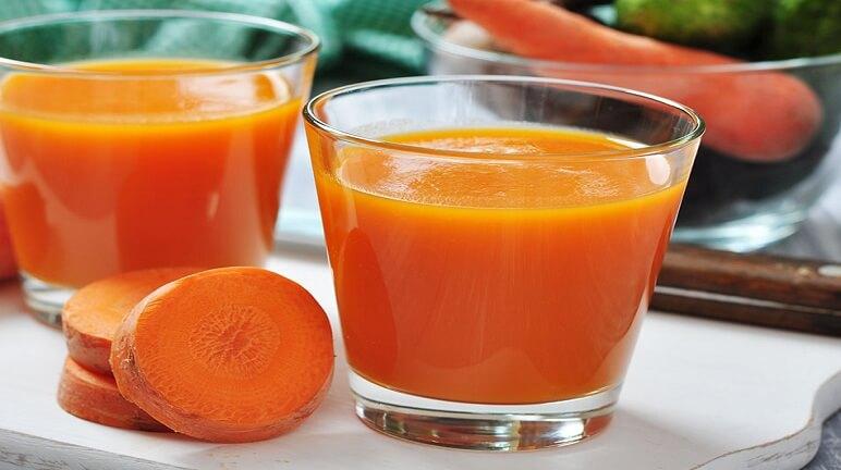 Giảm cân và tốt cho sức khỏe với cách làm sinh tố cà rốt
