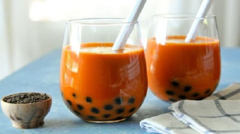 Công thức cho cách làm trà sữa thái đỏ thơm ngon chuẩn vị