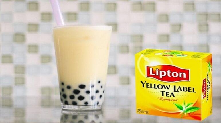 Trổ tài tại nhà với cách làm trà lipton sữa đơn giản nhất