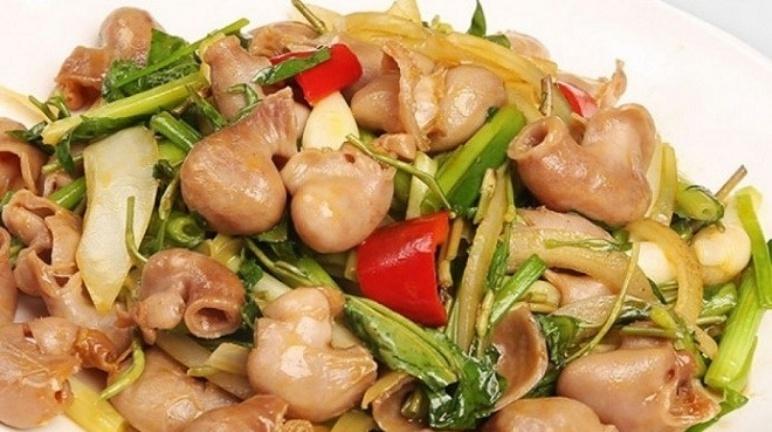 Cách chế biến món bao tử cá basa xào chua ngọt ngon khó cưỡng cho bữa cơm gia đình