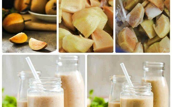 Cách làm sinh tố hồng xiêm sữa chua đá ngon ơi là ngon - Món Ngon